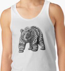Camisetas de tirantes para hombre Ornate Bear