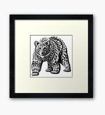 Ornate Bear Framed Print