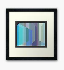 TV Visage Framed Print