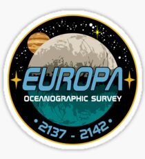 Europa Oceanographic Survey Sticker