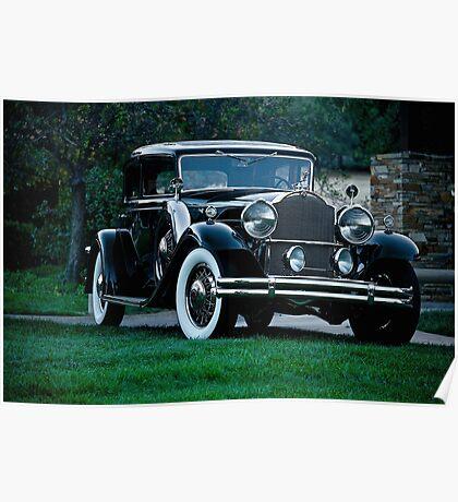1931 Packard 845 Deluxe Eight Sports Sedan I Poster