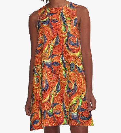 Citrus #DeepDream A-Line Dress