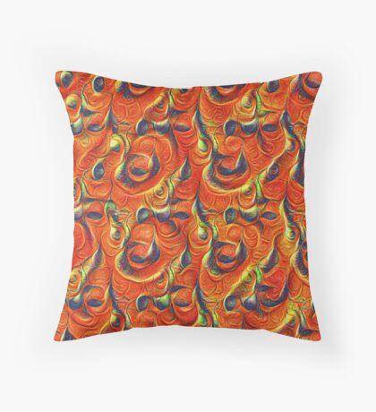 Citrus #DeepDream Throw Pillow
