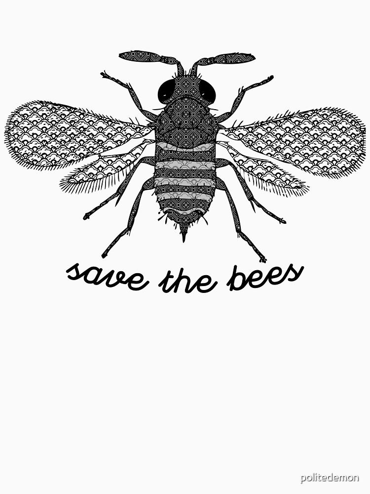 Salva a las abejas de politedemon