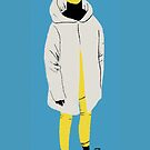 100 Days. Guy in the white parka. by MarcConaco
