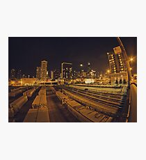 The Chicago Files - #1   Halsted Rail Yard Photographic Print