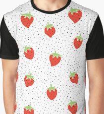 Strawberries Graphic T-Shirt