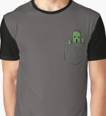 Little Pocket Cactuar Graphic T-Shirt