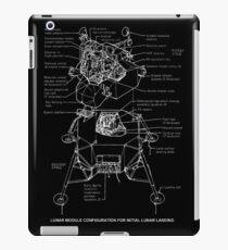 Lunar Module Schematic iPad Case/Skin