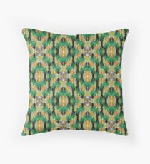 intricate crystals Throw Pillow