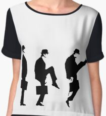 Monty Python Ministry Of Silly Walks Chiffon Top