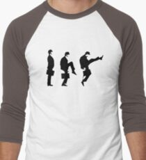 Monty Python Ministry Of Silly Walks Men's Baseball ¾ T-Shirt
