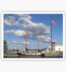 Let's Sail!  Sticker