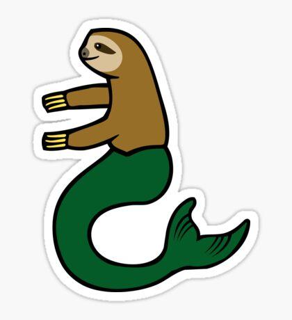 Mersloth (Mermaid Sloth) Sticker