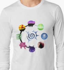 Seven Deadly Sins Character Icons T-Shirt