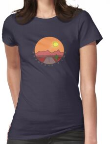 Roadtrip Time Womens Fitted T-Shirt