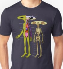 Alien Anatomy - Cutaway Diagram Unisex T-Shirt