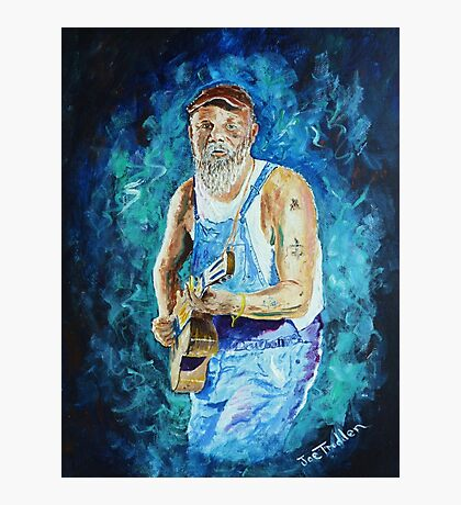 Seasick Steve Photographic Print