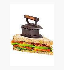 Ironic Sandwich Photographic Print