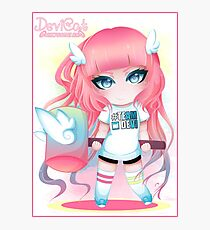 Momoko Chibi - Sporty Outfit 2016 Photographic Print