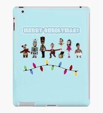 Stop Motion Christmas - Style H iPad Case/Skin