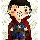 Chibi Doctor Strange 2 by Furiarossa