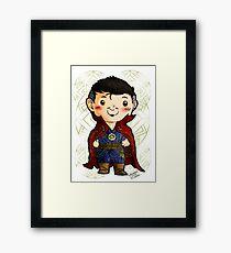 Chibi Doctor Strange 2 Framed Print