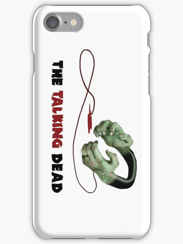 Full colour iPhone case by TheTalkingDead