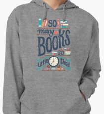 So many books so little time Lightweight Hoodie