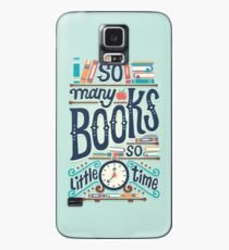 So many books so little time Case/Skin for Samsung Galaxy