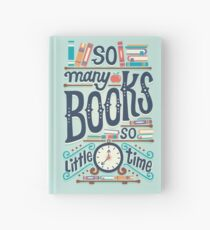 So many books so little time Hardcover Journal