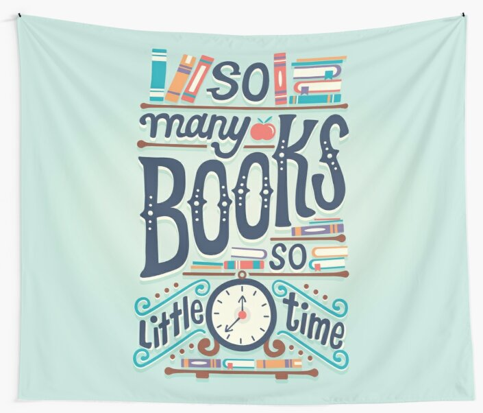 So many books so little time by Risa Rodil