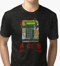 Counter Strike Bomb Text Tri-blend T-Shirt
