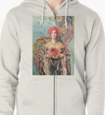 In The Fullness of Time Zipped Hoodie
