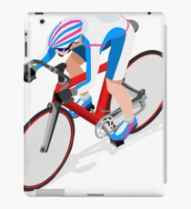 Cycling Track Sports 3D Isometric iPad Case/Skin