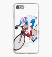 Cycling Track Sports 3D Isometric iPhone Case/Skin