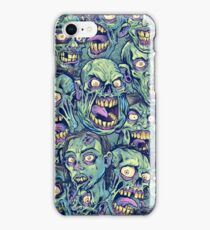 Zombie Repeatable Pattern iPhone Case/Skin