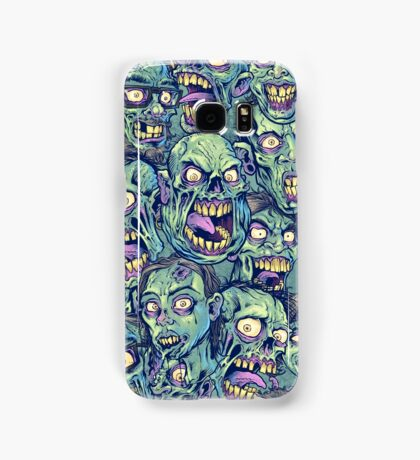 Zombie Repeatable Pattern Samsung Galaxy Case/Skin