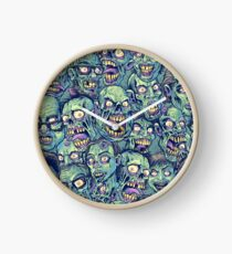 Zombie Repeatable Pattern Clock