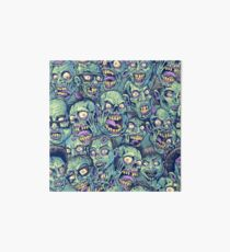 Zombie Repeatable Pattern Art Board
