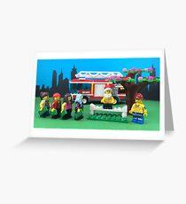 Happy Fireman Xmas Greeting Card