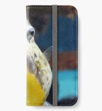 Like a little Golden Snitch iPhone Wallet