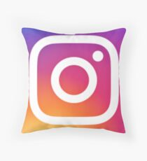 Instagram Logo (New) Throw Pillow