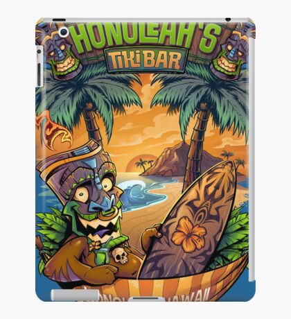 Tiki Man in a Hammock iPad Case/Skin