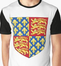 Coat of Arms of England (1340-67) Graphic T-Shirt