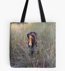 Rosie & her favourite toy...... Tote Bag