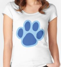 a blue clue. Women's Fitted Scoop T-Shirt