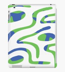 Double Reality (Cool Blue) iPad Case/Skin