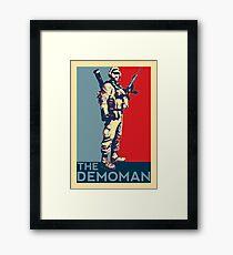 Battlefield - The Demoman Framed Print