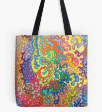 Colour Tangles Tote Bag